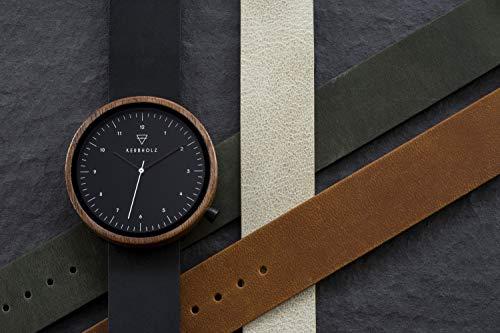 Uhr - Heinrich Walnut - Midnight Black - 4