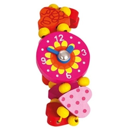 BINO - Armbanduhr aus Holz für Kinder