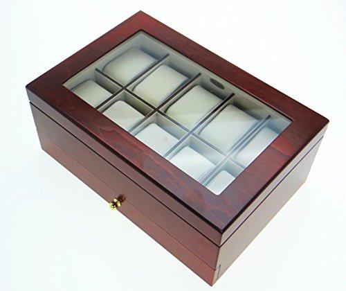 uhrenbox aus holz aufbewahrung f r holzuhren holzuhrenwelt. Black Bedroom Furniture Sets. Home Design Ideas