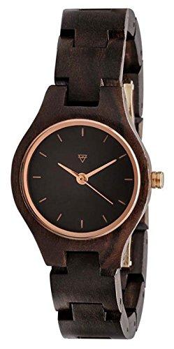 Kerbholz - Adelheid Holz Armbanduhr
