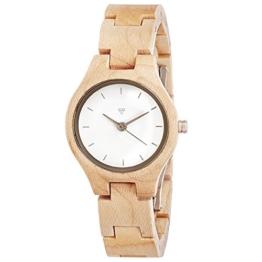 Kerbholz - Adelheid Damen-Armbanduhr