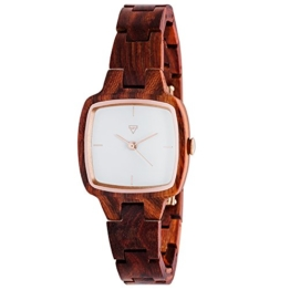 Kerbholz - Greta Damen-Armbanduhr aus Holz