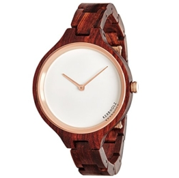 Kerbholz - Hinze Holz Herren-Armbanduhr Quarz