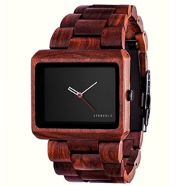 Kerbholz - Reineke Herren-Armbanduhr Holz