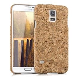 kwmobile - Kork Hülle für Samsung Galaxy S5 / S5 Neo / S5 LTE+ / S5 Duos