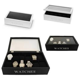 LS Design - Holz Uhrenbox Schatulle