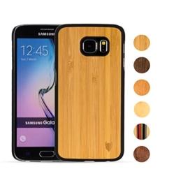Samsung Galaxy S6 Hülle aus Bambus