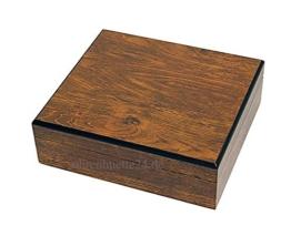 Uhrenkoffer aus Echtholz für 8 Uhren