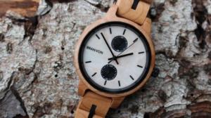 Branvon Holzuhren Welt Uhr