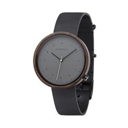 Kerbholz Armbanduhr Heinrich Sandalwood Midnight Black - 1