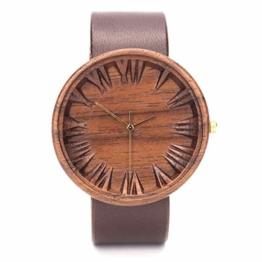 Ovi Watch, Holzuhr für Herren, Gefertigt aus Nachhaltig Angebautem Holz - 1