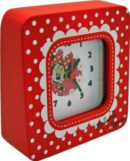 Disney Joy Toy 91012 Minnie Wecker aus Holz, Geschenkpackung, 15 x 4.5 x 13 cm - 1