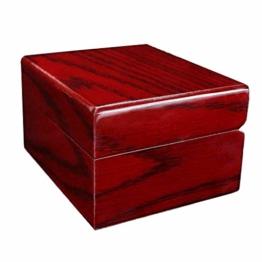 Hochwertige Uhrenbox aus Holz Aufbewahrungshalter Mode Uhr Aufbewahrungsbox mit 1 Gitter - 1
