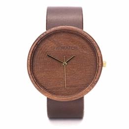 Holzuhr Avium Von Ovi Watch   Minimalistisches Design   Unisex-Uhr   Handgemachtes Geschenk - 1