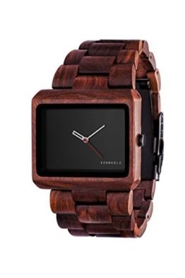 Kerbholz Herren-Armbanduhr Reineke Analog Quarz Holz 0705184599530 - 1