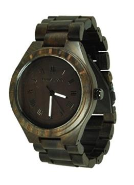 Munixwood Holzarmbanduhr Lupardus Sandelholz mit Uhrenbox Holzuhr - 1