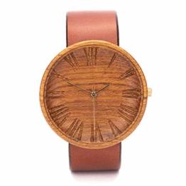 Ovi Watch - Holzuhr Herren - Graviert Nachhaltige Produkte - 1