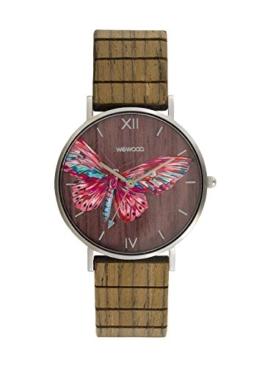WEWOOD Damen Analog Japanischer Quarz Uhr mit Holz Armband WW48002 - 1