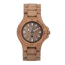 WEWOOD Damen Analog Quarz Smart Watch Armbanduhr mit Holz Armband WW01009 - 1