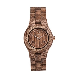 WEWOOD Damen Analog Quarz Smart Watch Armbanduhr mit Holz Armband WW33006 - 1