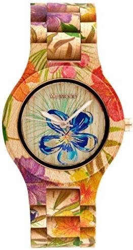 WeWood Damen-Armbanduhr Antea Flower Beige WW24007 - 1