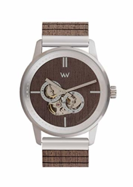 WEWOOD Herren Analog Japanische Automatik Uhr mit Holz Armband WW66001 - 1