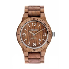 WEWOOD Herren Analog Quarz Smart Watch Armbanduhr mit Holz Armband WW08009 - 1