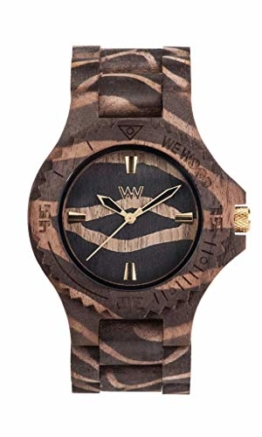 WEWOOD Herren Analog Quarz Smart Watch Armbanduhr mit Holz Armband WW40002 - 1