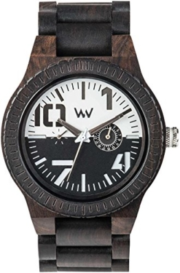 Wewood Herren Analog Quarz Smart Watch Armbanduhr mit Holz Armband WW51002 - 1