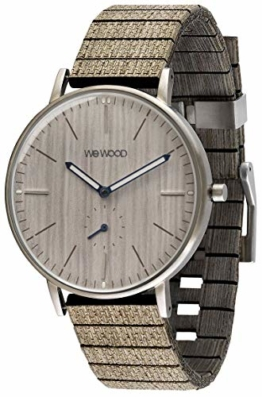 WEWOOD Herren Analog Quarz Smart Watch Armbanduhr mit Holz Armband WW63001 - 1