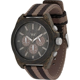 WEWOOD Herren Analog Quarz Smart Watch Armbanduhr mit Stoff Armband WW56002 - 1