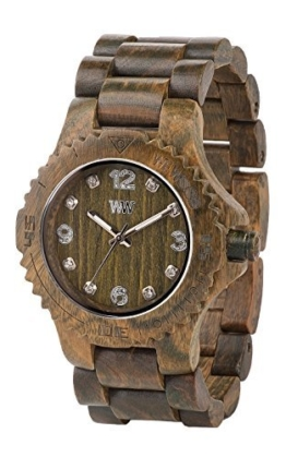 WeWOOD Men's Deneb Wood Wooden Watch (Army Green) by - 1