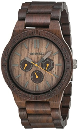 WEWOOD Quarzuhr Kappa Chocolate WW15003 - 1